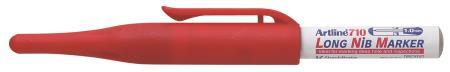 Marqueur Long Nib 710 1,0mm rouge