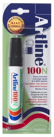 Marqueur permanent NEAT 100 7,5-12mm noir. Blister