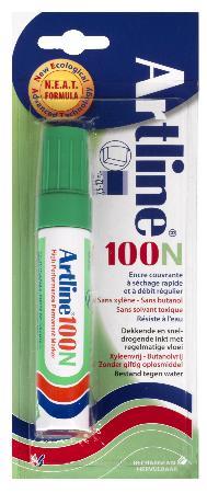 Marqueur permanent NEAT 100 7,5-12mm vert. Blister