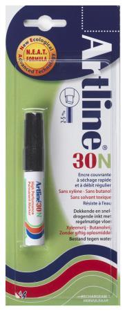 Marqueur permanent NEAT 30 2,0-5,0mm noir. Blister