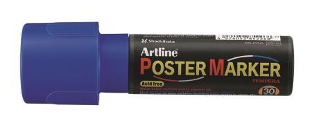 Marqueur Poster Marker 30,0mm bleu