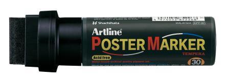 Marqueur Poster Marker 30,0mm noir