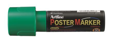 Marqueur Poster Marker 30,0mm vert