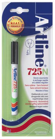 Marqueur permanent NEAT 725 0,4mm noir. Blister