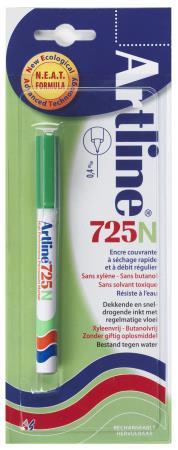Marqueur permanent NEAT 725 0,4mm vert. Blister
