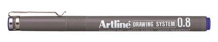 Feutre Drawing Pen 238 0,8mm bleu
