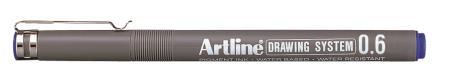 Feutre Drawing Pen 236 0,6mm bleu