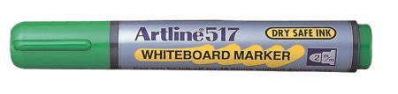 Marqueur tableau blanc Drysafe 517 2,0mm vert