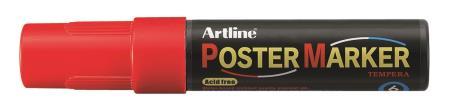 Marqueur Poster Marker 6,0mm rouge