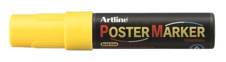 Marqueur Poster Marker 6,0mm jaune fluo