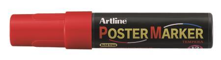 Marqueur Poster Marker 12,0mm rouge