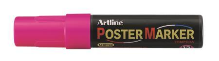 Marqueur Poster Marker 12,0mm rose fluo