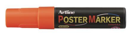Marqueur Poster Marker 12,0mm orange fluo