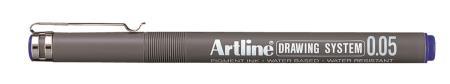 Feutre Drawing Pen 2305 0,05mm bleu
