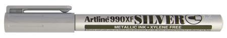 Marqueur permanent à encre métallique 990XF 1,2mm argent
