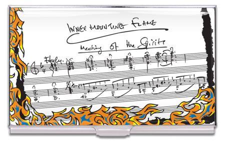 """Porte-cartes en métal """"Inner Mounting Flame"""". Etui cartonné."""