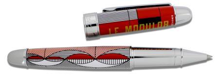 "Roller ""Le Modulor"". Pointe medium. Etui métallique. Edition limitée"