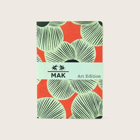 """2 recharges """"Likarz-Strauss"""" MAK Art Edition pour Grand Voyageur. Uni. 9,5 x 14cm."""
