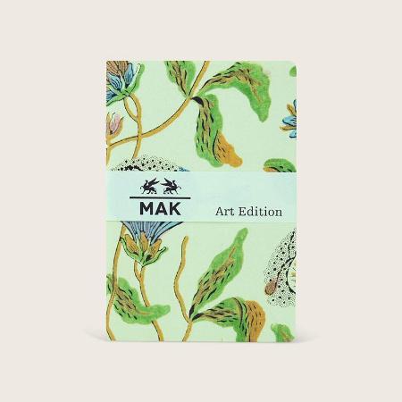 """2 recharges """"Biedermeier"""" MAK Art Edition pour Grand Voyageur. Uni. 9,5 x 14cm."""