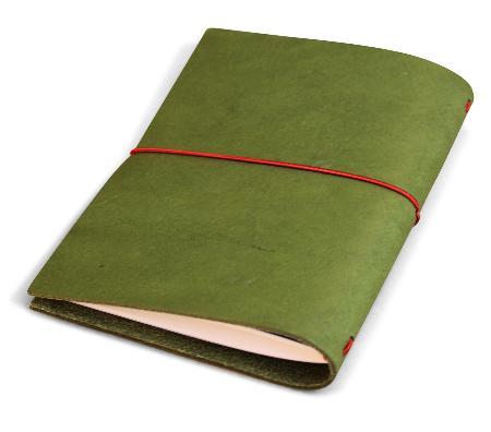 Carnet de note Grand Voyageur.Olive Green. Boîte cartonnée.