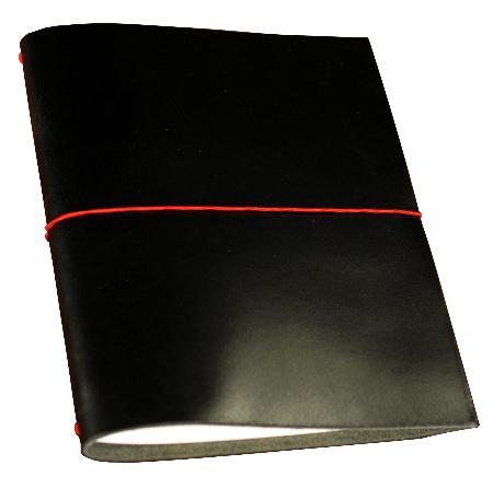 Carnet de note Grand Voyageur XL. Noir. Boîte cartonnée.