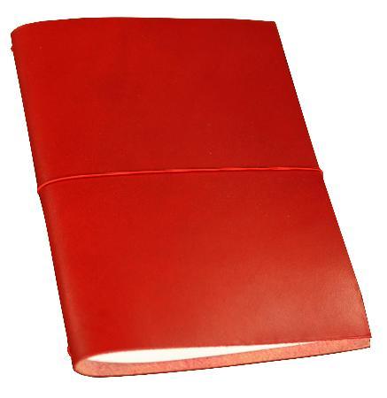 Carnet de note Grand Voyageur XL. Rouge. Boîte cartonnée.