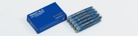 Boîte de 10 cartouches standard d'encre bleue.