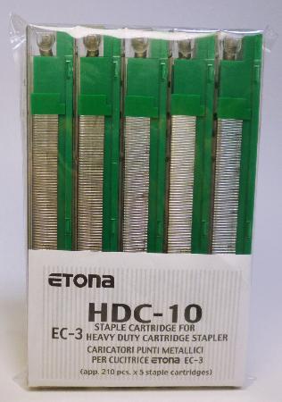 Agrafes pour EC-3. Capacité de 41-55 feuilles.