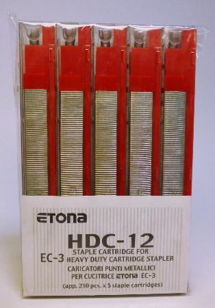Agrafes pour EC-3. Capacité de 56-80 feuilles.