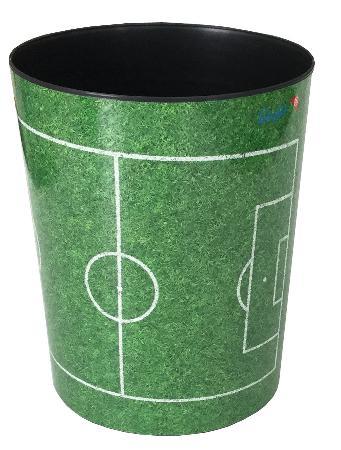 """Corbeille à papier """"Football"""" 13L. Motifs 26665"""