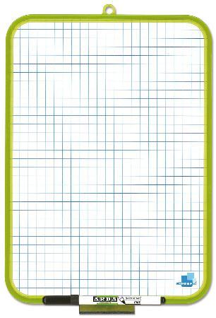 Tableau blanc double-face 24x33cm
