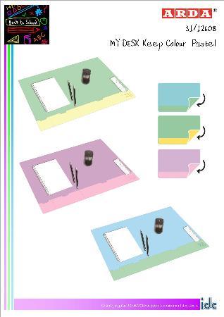 Promotion My Desk Keep Colour Pastel