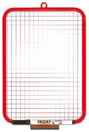 Tableau blanc double-face 19x29cm