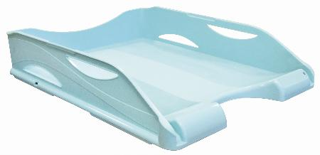 Bac à courrier Keep Color Pastel. Coloris : bleu.