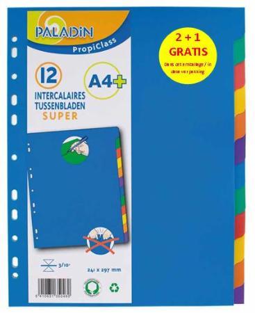 Pack Promo Index 12 Super A4+ : 2 + 1 GRATUIT