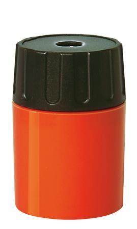 Taille-crayon 1 trou cylindrique. Métal. Coloris assortis.