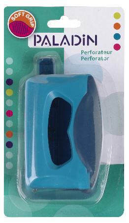 Perforateur Soft Grip. Blister.